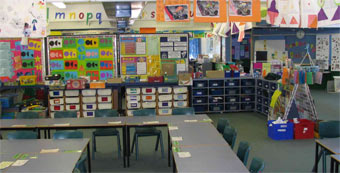 2nd image of class room at Duffy Primary
